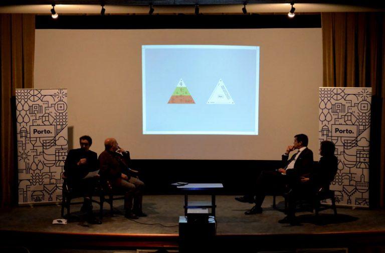 Conferência de imprensa de apresentação do novo Cinema Trindade.