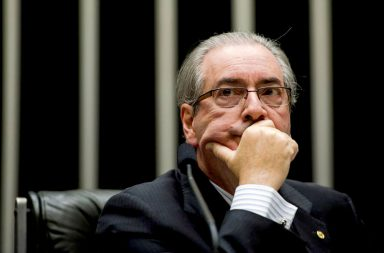 Eduardo Cunha foi detido na semana passada.
