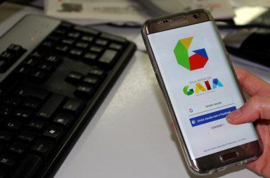 """A aplicação """"Cidadão Gaia"""" é gratuita e está disponível para android e iOS."""