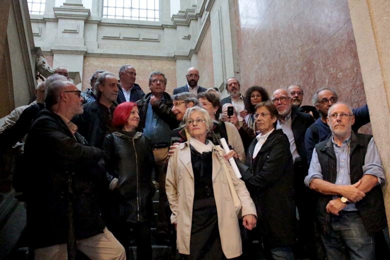 Antigos estudantes da Universidade do Porto no período pré-25 de Abril.
