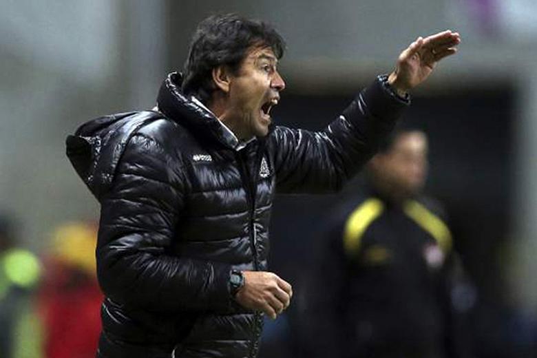 Erwin Sanchéz estava satisfeito no final do encontro com o Moreirense.