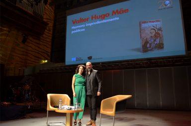 Valter Hugo Mãe foi entrevistado por Teresa Sampaio.