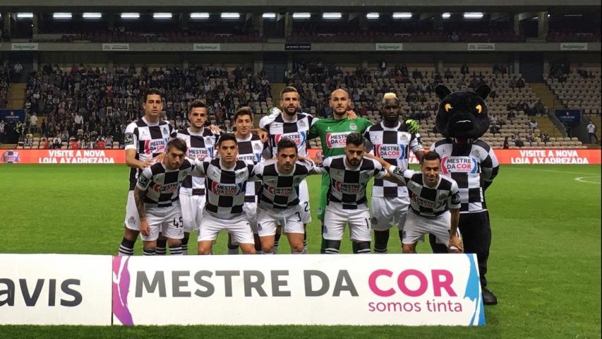 O Boavista defrontou o Estoril num jogo que terminou sem golos.