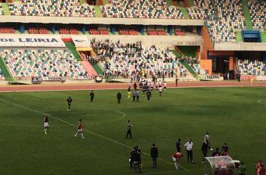 O Boavista venceu em Leiria perante pouco mais de mil espectadores.