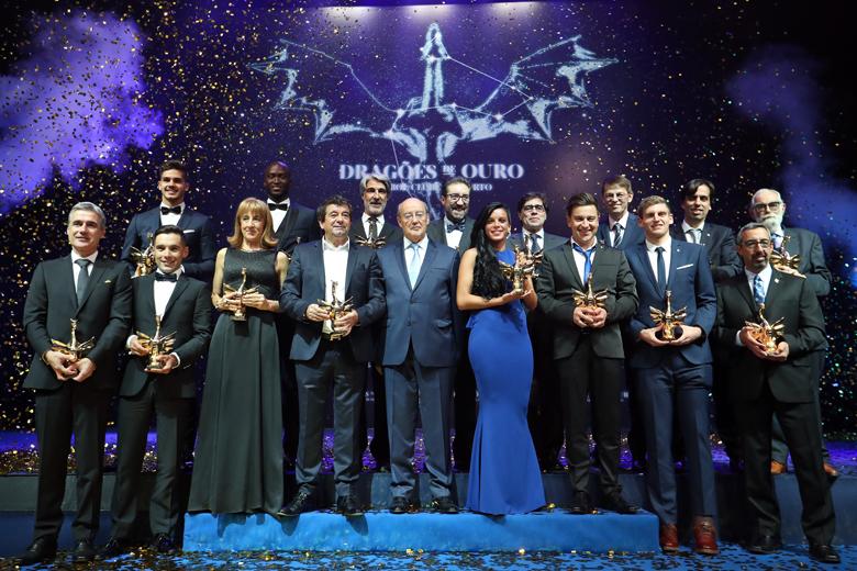 Premiados dos Dragões de Ouro deste ano.