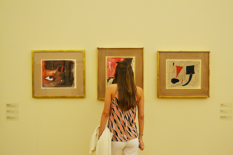 "Exposição ""Joan Miró: Materialidade e Metamorfose""."