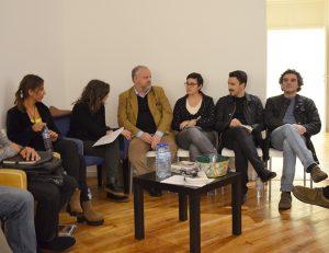 """Convidados do debate """"O que é o elitismo cultural"""", promovido pela Acesso Cultura"""