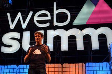 Paddy Cosgrave, a cara da organização da Web summit, que passou por Lisboa entre 7 e 10 de novembro.