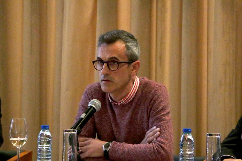 Dario Oliveira na apresentação do Porto/Post/Doc deste ano.
