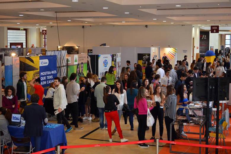 Em dois dias, passaram cerca de 3 mil estudantes pela Exponor.