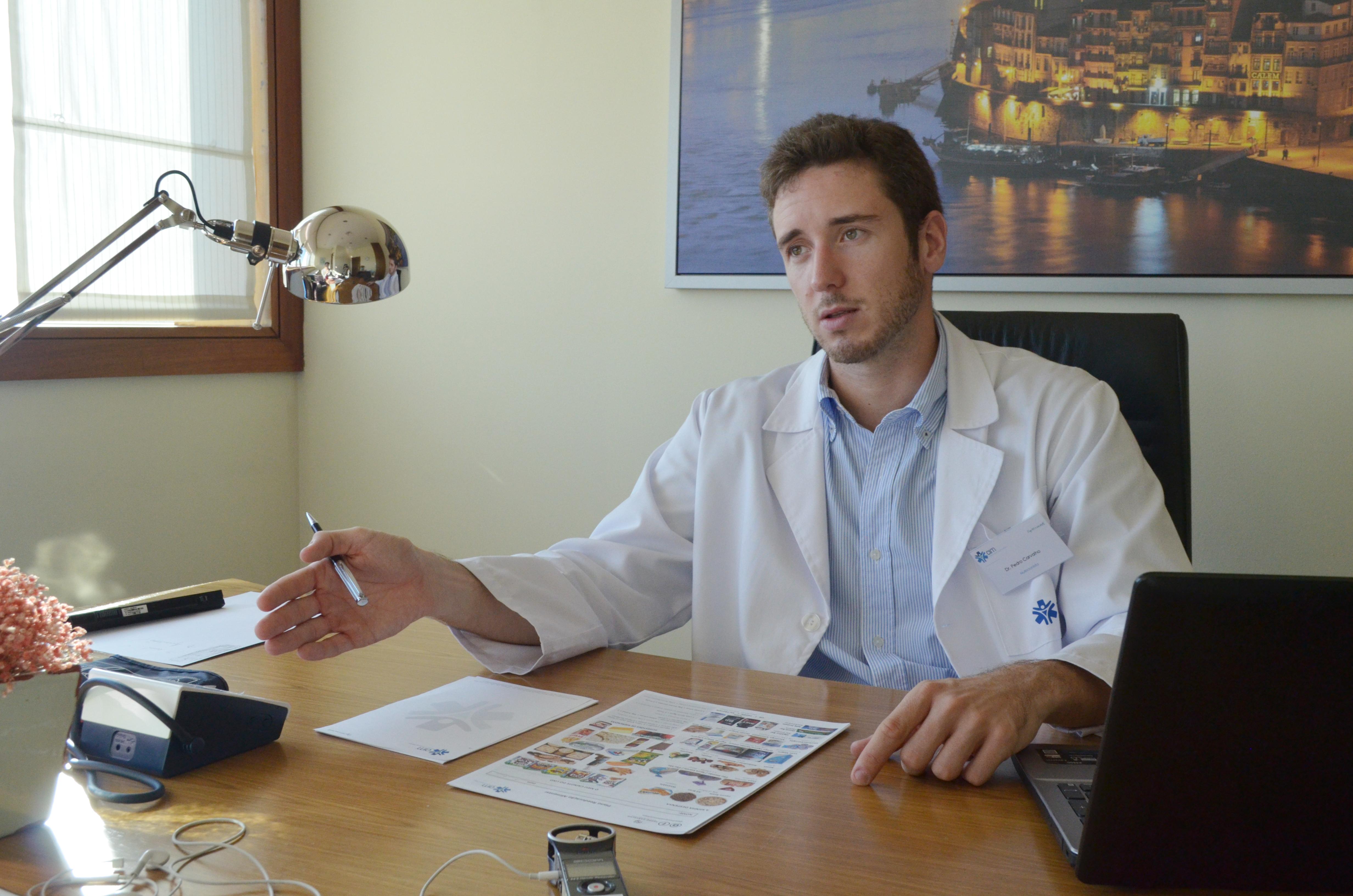 Pedro Carvalho é o nutricionista do FC Porto.