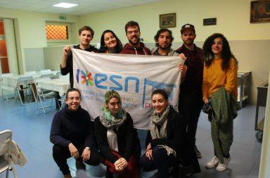 Grupo de participantes e Rui Barbosa (no centro de óculos).