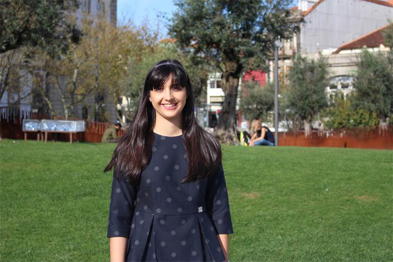 Ana Luísa Pereira tem 24 anos e é estudante de mestrado na ESTeSP.