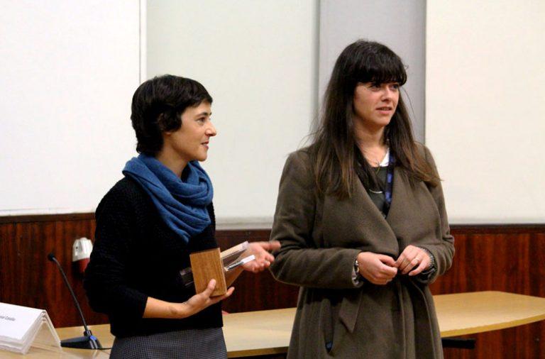 Catarina Santos e Maria João Cunha da Rádio Renascença.