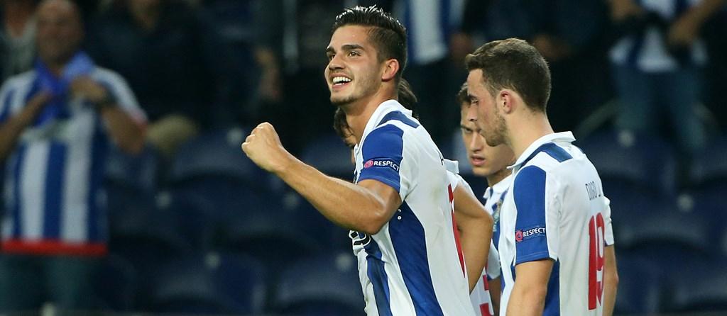 André Silva foi o autor do golo do FC Porto aos 37' de jogo.