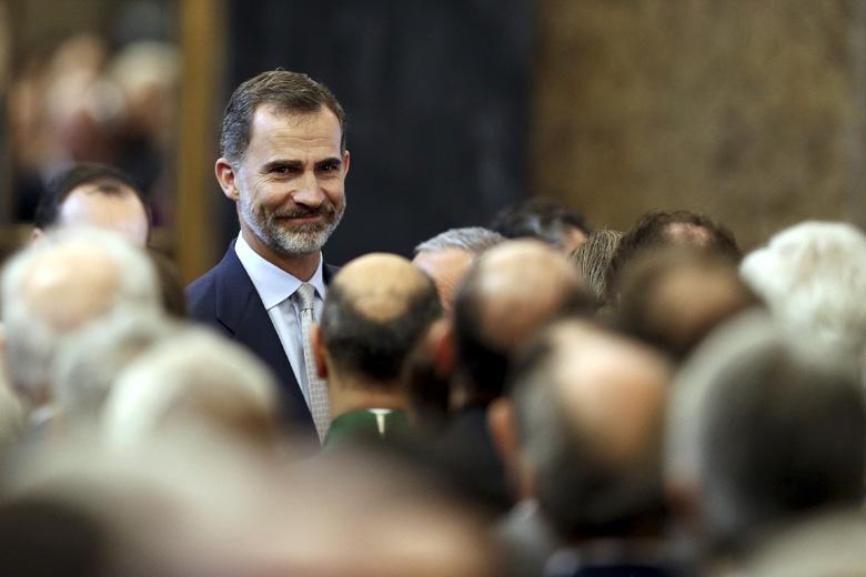 Rei de Espanha na Câmara do Porto | Foto: José Coelho/Lusa