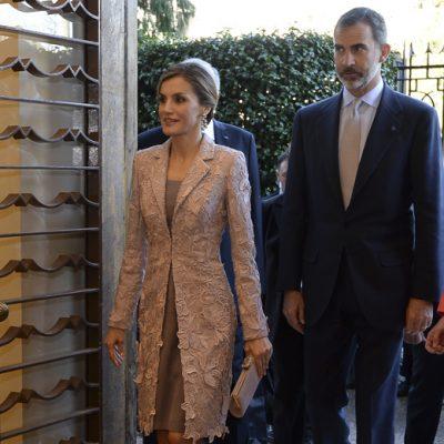 Reis de Espanha em Serralves | Foto: Octávio Passos/Lusa