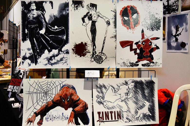 A Banda Desenhada também esteve em destaque nesta edição da Comic Con.