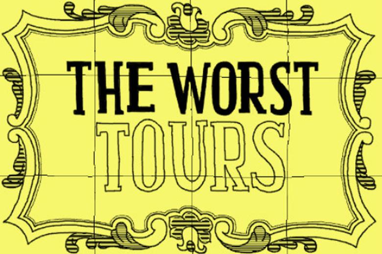 Fundada em 2012, a The Worst Tours quer discutir a cidade tanto quanto mostrá-la.