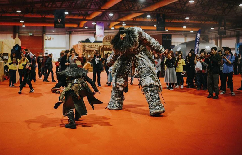 O mundo da ficção andou à solta na Comic Con Portugal.