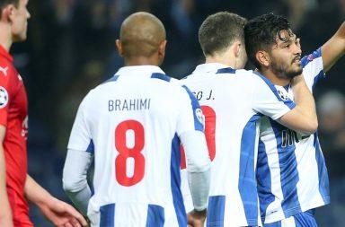 Corona marcou um belo golo, o segundo da goleada do Dragão.