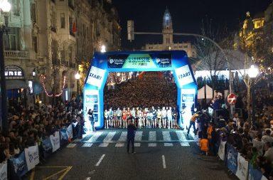 A corrida de São Silvestre no Porto já leva 23 edições.