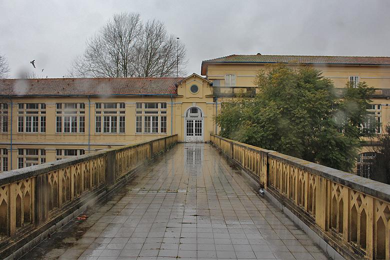O Liceu Alexandre Herculano tem mais de 100 anos de história.