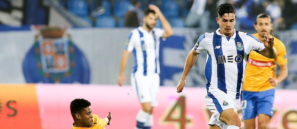 André Silva marcou na Amoreira o 17º golo da época.