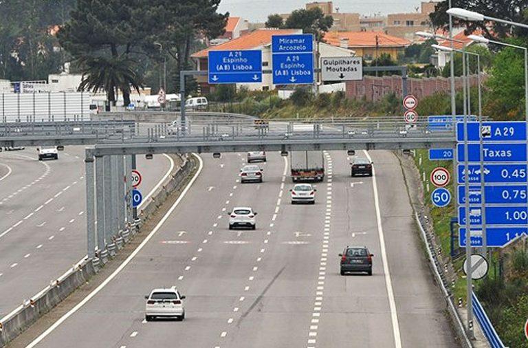 Aberta Via Para Evitar Portagem Na A29 Jpn
