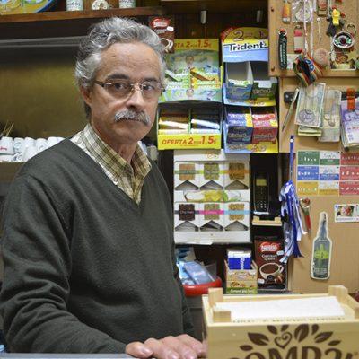 Armando Sousa, dono de café em Santos Pousada