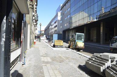 Obras na Rua de Santos Pousada