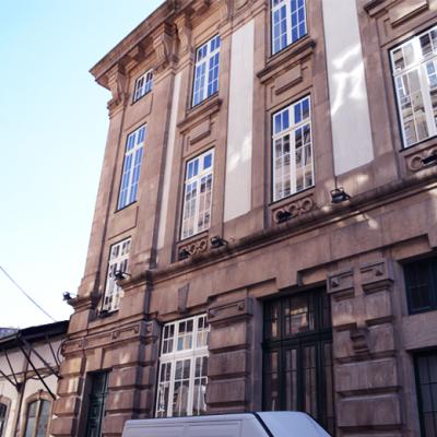EEsta é a fachada do novo hostel da Estação de São Bento. Foto: Mafalda Maria Rodrigues