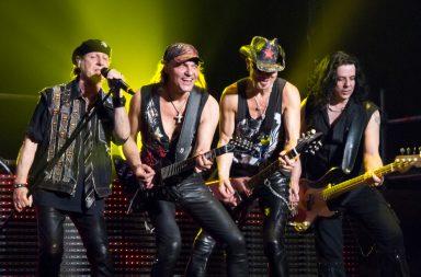 Scorpions voltam a Portugal neste ano.