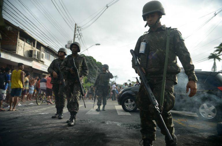Polícia Militar de Espirito Santo está em greve há uma semana