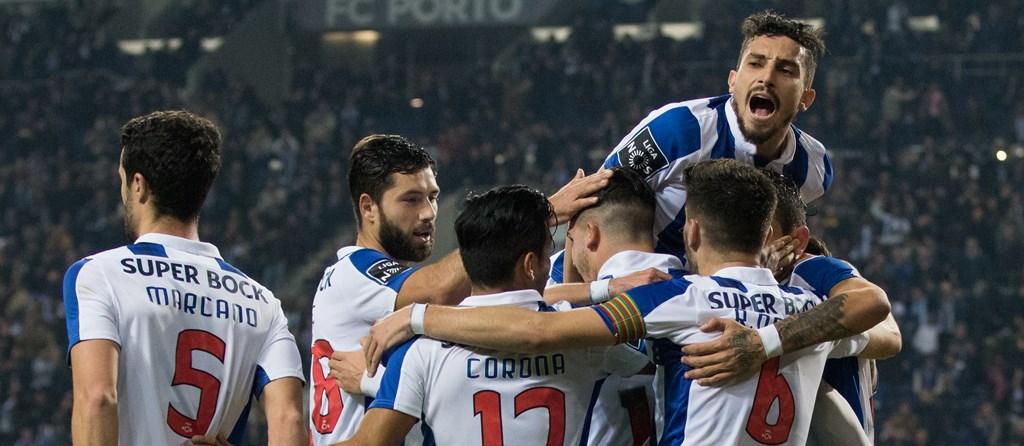 O FC Porto inaugurou a jornada com uma goleada sobre o Tondela.