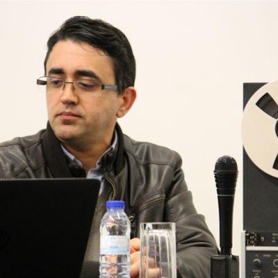 Luís Bonixe, professor de Ciência da Comunicação no Instituto Politécnico de Portalegre. Foto: Ana Isabel Reis