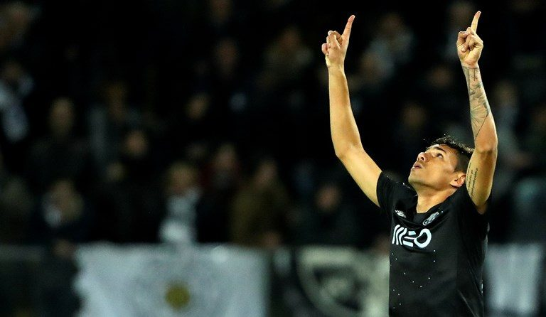 Soares já leva três golos com a camisola do FC Porto.