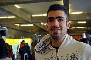 Francisco Almeida, aluno da Licenciatura em Gestão na FEP