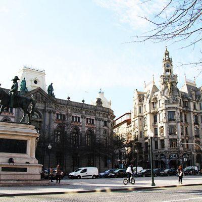A Praça da Liberdade foi a última etapa do percurso. Foto: Vanda Pinto