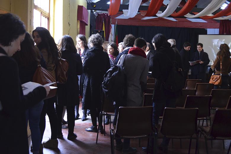 A programação foi apresentada na Associação dos Moradores da Bouça. No ano passado, a sala não chegou para quem quis ver Gisela João.