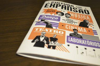 O panfleto da edição deste ano foi desenhado por Andrew Howard