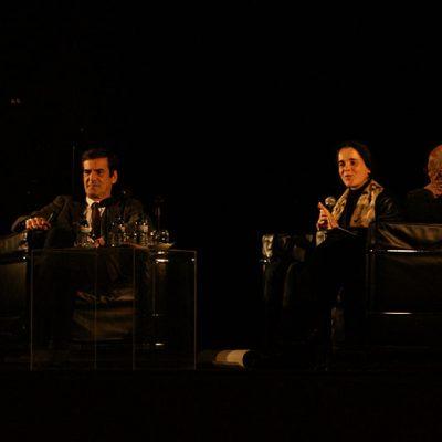 Rui Moreira, Sara Antónia Matos e Alexandre Alves Costa. Foto: Beatriz S. Pinto