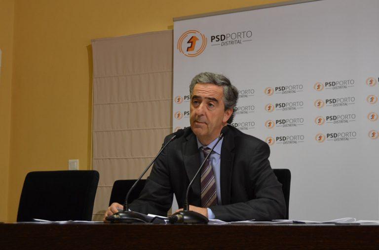 Miguel Seabra questiona a conduta de Rui Moreira no caso Selminho em conferência de imprensa do PSD.