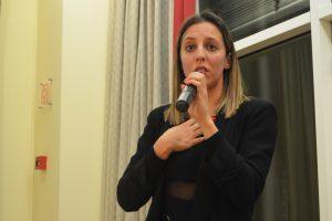 """Bárbara Machado fala do seu testemunho e participação no livro """"Somos todos heróis"""". Foto: Beatriz Carneiro"""