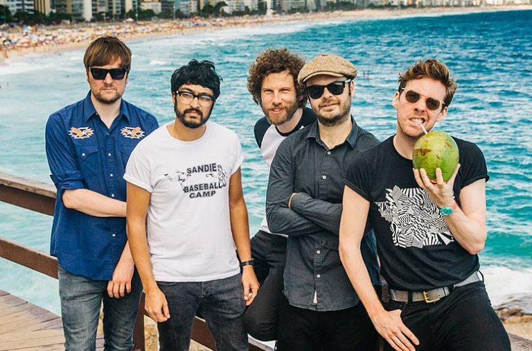 A banda britânica sobe ao palco do Queimódromo no dia 13 de maio.