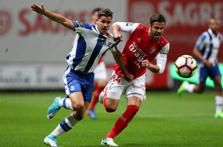 FC Porto não foi além do empate em Braga.