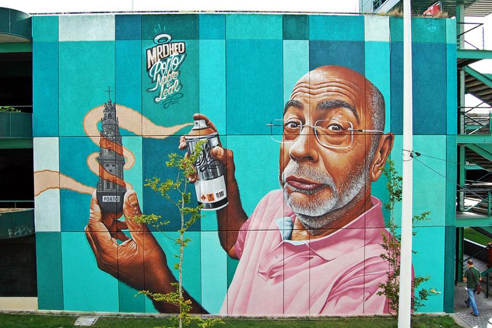 Mural da Trindade, de Mr. Dheo.