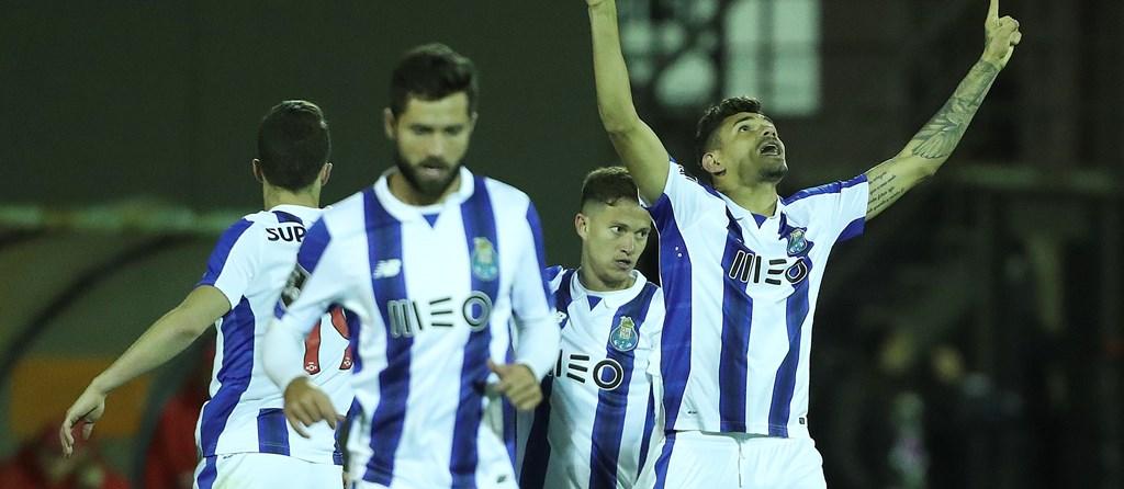 Soares abriu o caminho da vitória aos portistas.