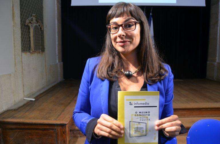 Vanessa Rodrigues é uma das responsáveis pela nova cara do #infomedia.