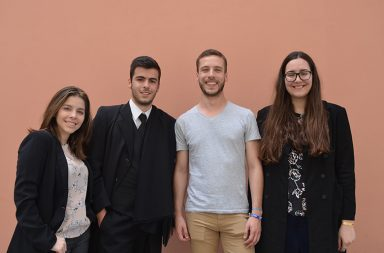 Beatriz Melo, César Castro, Eduardo Ribeiro e Margarida Ribeiro são alguns dos membros do Porto Tasty